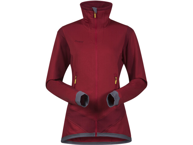 Bergans Roni Polaire Femme, red/burgundy